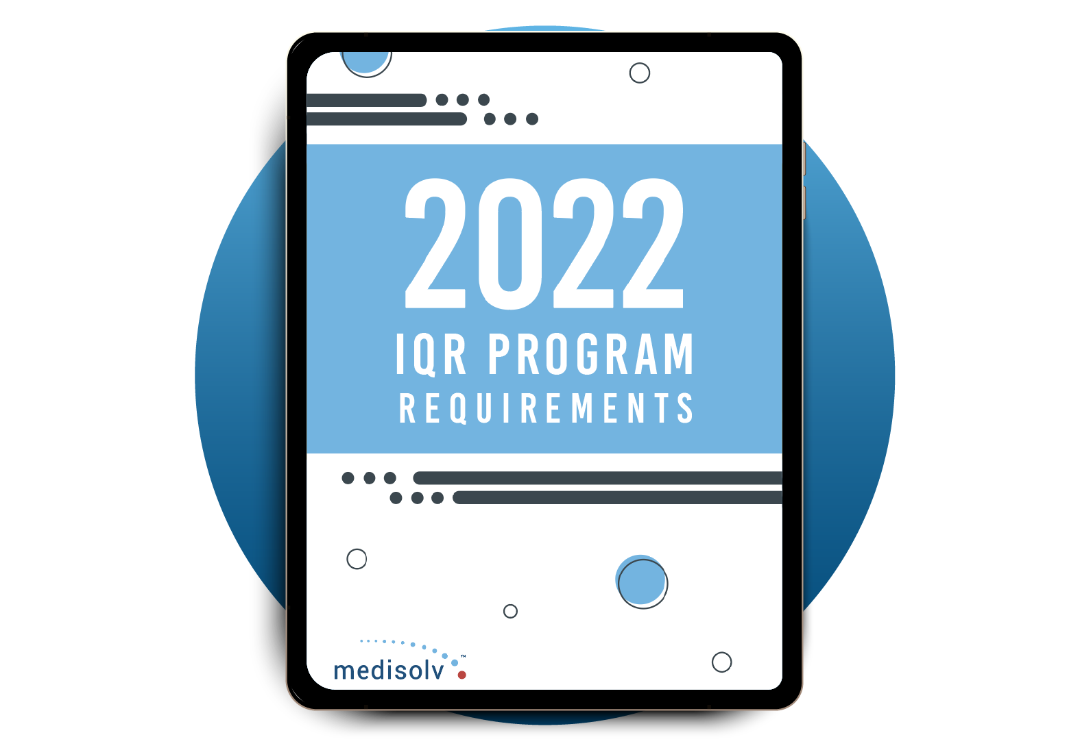 IQR Requirements for 2022